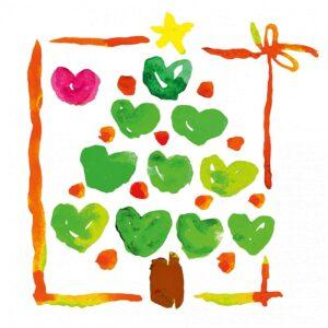 Christbaum der Herzen